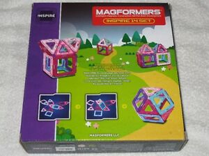 MAGFORMERS (14PC) -MAGNETIC CONSTRUCTION SET (PASTEL) *LAST ONE* Regina Regina Area image 2