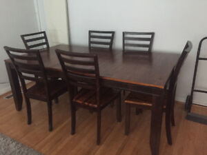 7 piece Dining Table Set for sale