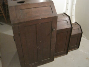 Antique Personal Cedar Sauna Very Rare and Unique Item