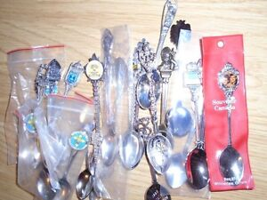 44 Silver Collector Spoons