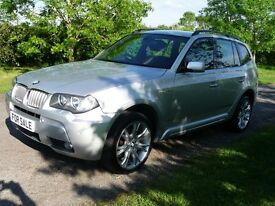 BMW X3 3.0d M SPORT (silver) 2008