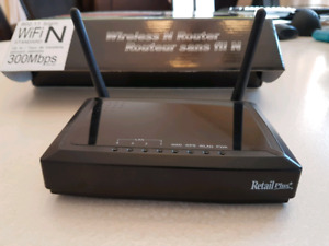 Routeur / router sans fil N wireless 300 MBPS 802.11 RETAIL PLUS