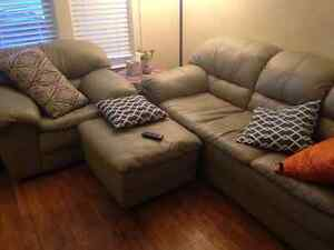 Lovely High End Sofa, Chair and Ottoman Windsor Region Ontario image 1