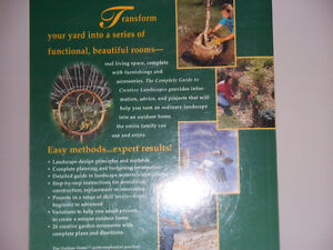 B&D COMPLETE GUIDE TO CREATIVE LANDSCAPES (316 pg) Kawartha Lakes Peterborough Area image 2