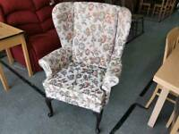 SALE NOW ON!! Wingback Armchair/ Fireside Chair - Can Deliver For £19