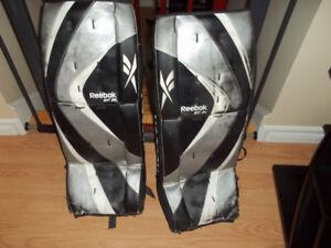 Reebok Sr 2K Street Hockey Goalie Pads