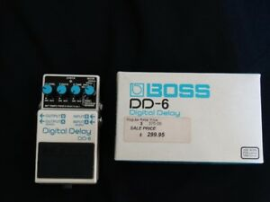 BOSS Digital Delay DD-6 Guitar Petal
