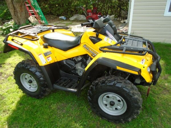 Used 2006 BRP Can-Am Outlander 800 HO XT