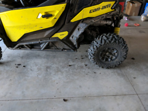 14 inch rims can am- WANTED