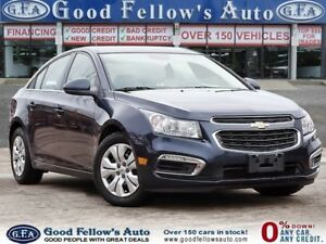 2015 Chevrolet Cruze 1LT MODEL, REARVIEW CAMERA
