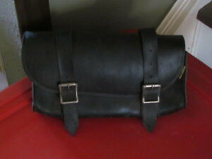 Vintage 1980's Willie & Max Black Tool Pouch