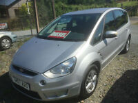 2007 Ford S-MAX 1.8TDCi ( 125ps ) 6sp 2007.75MY Zetec