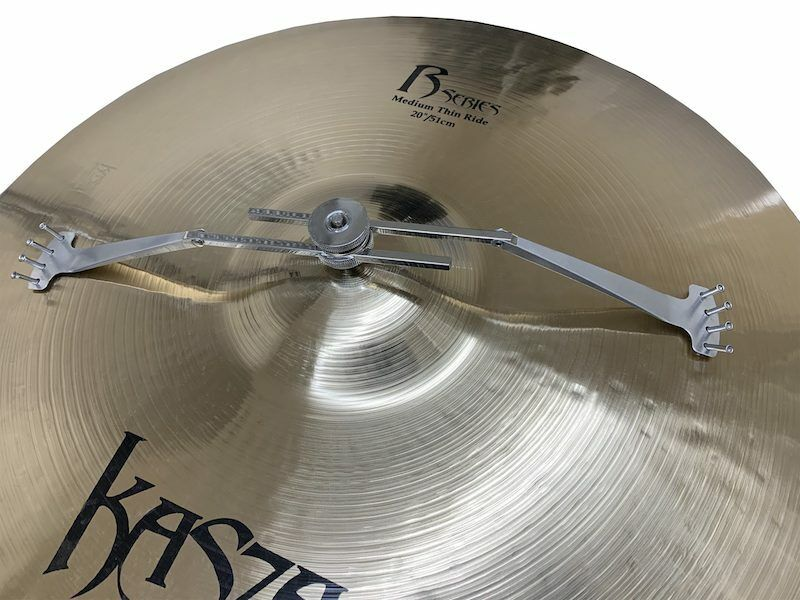 Ahead 8mm Adjustable Vintage Style Cymbal Fizzler with Rivets