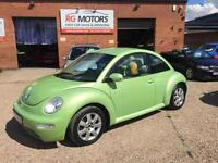 2005(05) Volkswagen Beetle 1.6 Green 3dr Hatcback, **ANY PX WELCOME**