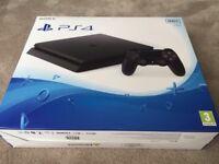 PS4 Slim Black 500gb 3 Games