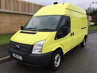 61(11) FORD TRANSIT 350 LWB HIGH ROOF 2.2 FWD 125 BHP