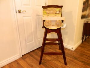 Carter wooden highchair.