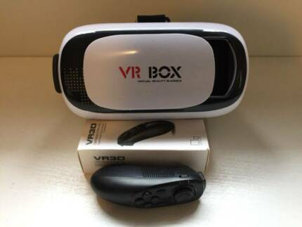 Virtual Reality VR BOX 2.0 II 3D Glasses & Bluetooth Gamepad
