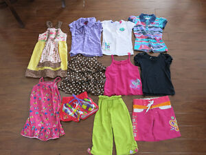 5T girl summer clothes and sandals