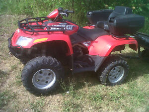 2005 Arctic Cat 500 Auto 4X4  ONE OWNER!!! LOW KMS!!! Oakville / Halton Region Toronto (GTA) image 4
