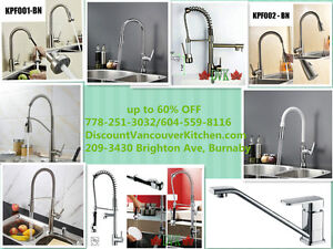 Kitchen Faucets For Summer Sale Up to 60% Off Start from $89
