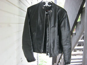 Bristol Model 686 Medium Black Leather  Women's Jacket