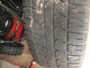 265/70/R17 - 4 used winter tires on rims Gatineau Ottawa / Gatineau Area image 2