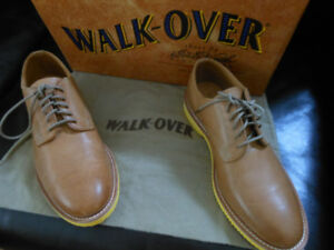 Walk-Over Tan Leather Shoes Brand New never worn Made in USA