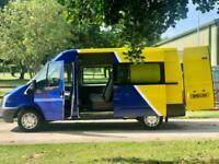 Ford Transit 2.2TDCi T280, Mwb, Semi High, Crew Van ***6 Seater***