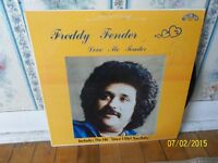 RARE-Freddy Fender autographed LP Record-Look