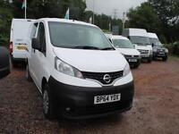 Nissan Nv200 1.5 Dci Acenta Car Derived Van