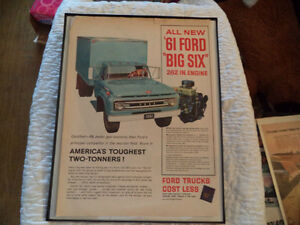 OLD CLASSIC CAR ford & chev PICKUP ADS Windsor Region Ontario image 9