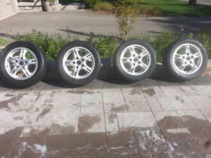 "986 Porsche Boxster 16"" Wheels and Tires ($450 OBO)"