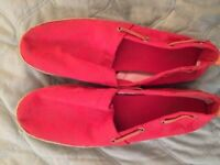 Brand New Size 9 New Dark Pink Coach Shoes.