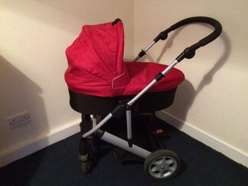 Baby items ( pram, moses basket, car seat, travel cot and clothes)