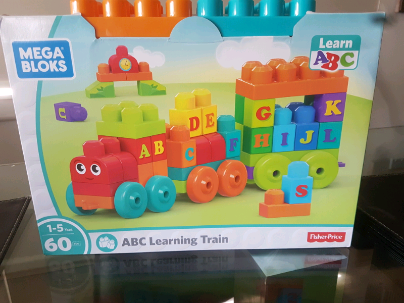 Mega Bloks ABC Learning Train - Toy - 1to5 years   Toys - Indoor