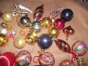 Christmas Tree Ornaments (pink tones) London Ontario image 3