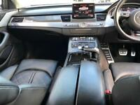 2012 Audi S8 4.0 ( 520ps ) Quattro LWB Black + HUGE SPEC + Carbon Trim + Bose +