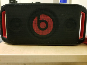 Beats by dre portable speaker