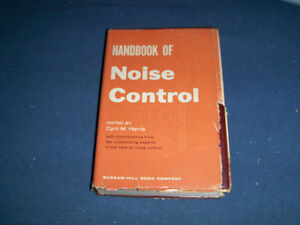HANDBOOK OF NOISE CONTROL-CYRIL M. HARRIS-1957-MCGRAW HILL