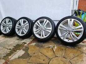 Audi s3 / a3 alloys , 18 inch , original 5x112