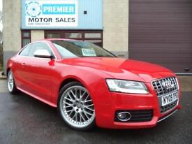 2009 AUDI S5 4.2 V8 FSI QUATTRO TIPTRONIC, SAT NAV, HEATED LEATHER, CRUISE +