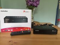 Manhattan Plaza HD-T2 HDMI Freeview HD Receiver