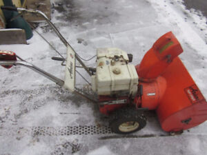 WANTED/YOUR UNWANTED SNOWBLOWER JUNK