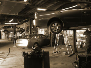 EXHAUST SYSTEM REPAIR: Catalytic converter, Flex pipe, Muffler