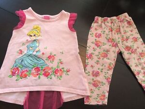 Cinderella Two Piece Outfit - Size 4T