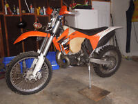 2011 KTM 300 XC  sell or trade