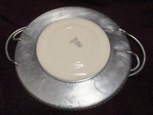 Vintage Wrought Farberware Tray&Bowl w/ Triumph Limoges Plate w/ Stratford Kitchener Area image 6