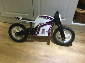 Kiddimoto Official Evil Knieval Ride on