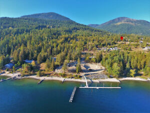 Amazing South facing building lot, 20 min from Nelson BC